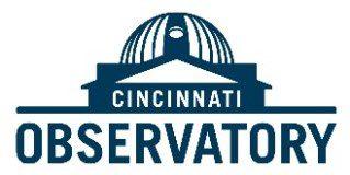 Cincinnati Observatory Logo (opens in a new tab)