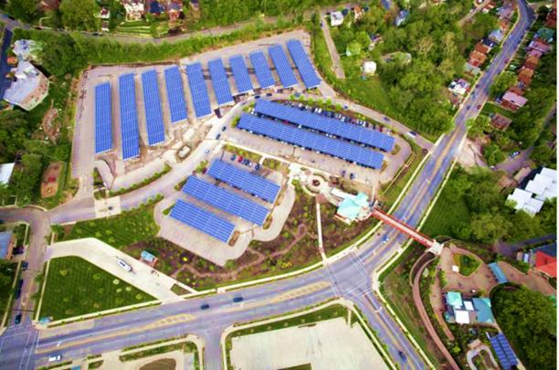 Cincinnati Zoo Solar Array