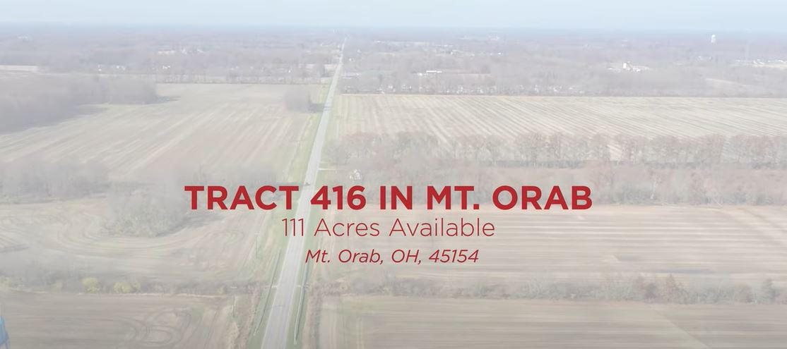Site: Tract 416 in Mt. Orab